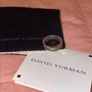David Yurman Crossover Ring  size 8